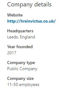 invictus founding